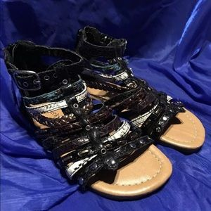 Lady Lucky Girls Size 9 Sandals
